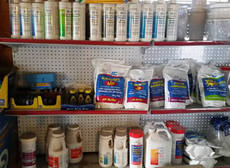 Pool Chemicals & Products